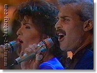 Paul Giordimaina & Georgina, Malta, 1991
